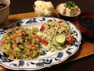 Aug22_野菜炒飯