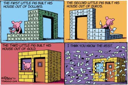 お金の風刺
