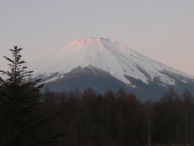 25日朝富士山カイ