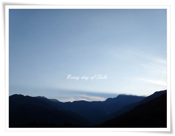 白馬の夕日201309