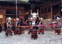 中国貴州省の旅\郎徳ミャオ族