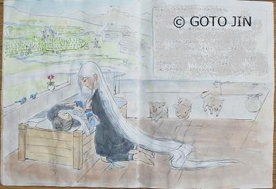 ラフスケッチ第11場面02