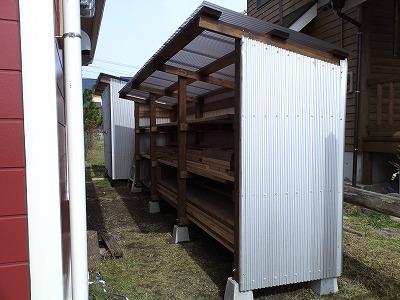 薪置き小屋