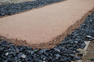 「固まる真砂土」