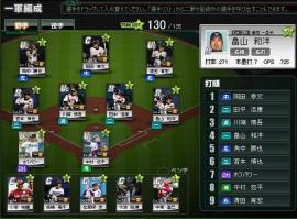 ブラウザプロ野球0407