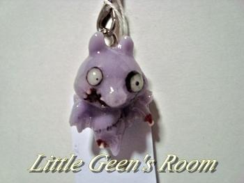 齧られちゃん薄紫コウモリ