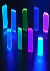 蛍光発色ガラス01