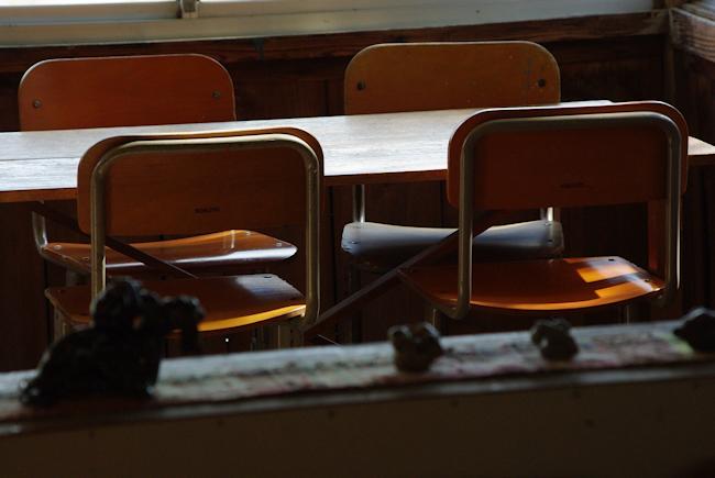 陽だまり学校の机blog