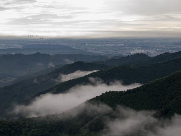 御岳山からの展望