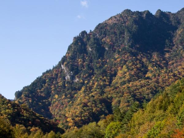 西沢渓谷の紅葉(1)