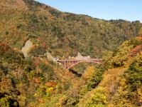 滝川渓谷の紅葉(5)