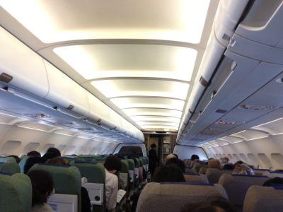 機内の雰囲気