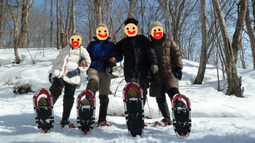 スノーシュートレッキング2