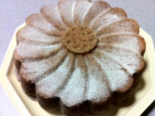 紅茶のマルグリットケーキ