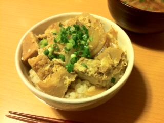 高野豆腐丼