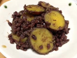 小豆さつま芋