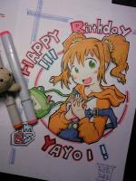 3月25日はやよいの誕生日!