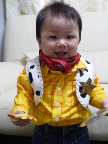 TOY STORY ウッディー 手作り 子供 赤ちゃん Woody handmade コスプレ コスチューム