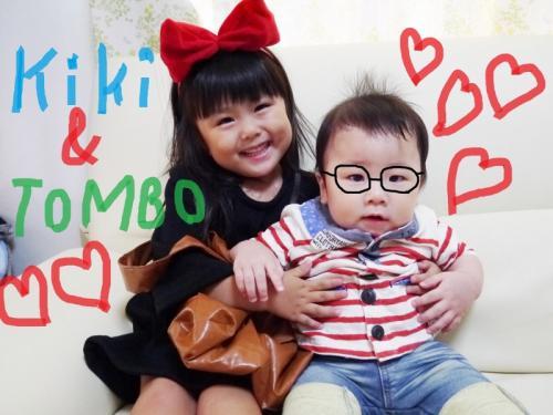 手作り キキ トンボ 魔女の宅急便 コス コスプレ handmade kikis delivery service kiki and tombo
