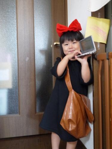 手作り キキ トンボ 魔女の宅急便 コス コスプレ ワンピース handmade kikis delivery service