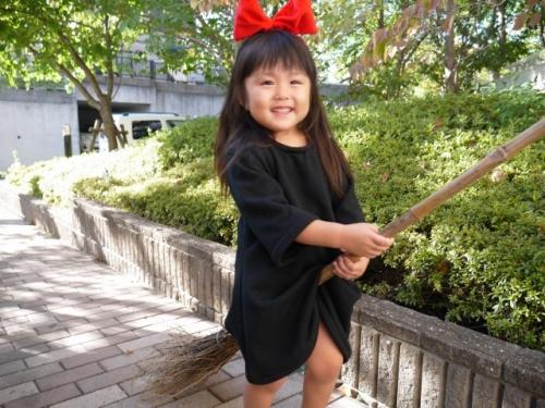 キキ 魔女の宅急便 コス コスプレ 子供 手作り kikis delivery service costume handmade 衣装6