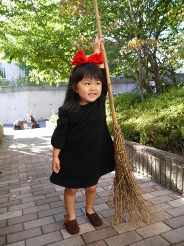 キキ 魔女の宅急便 コス コスプレ 子供 手作り kikis delivery service costume handmade 衣装8