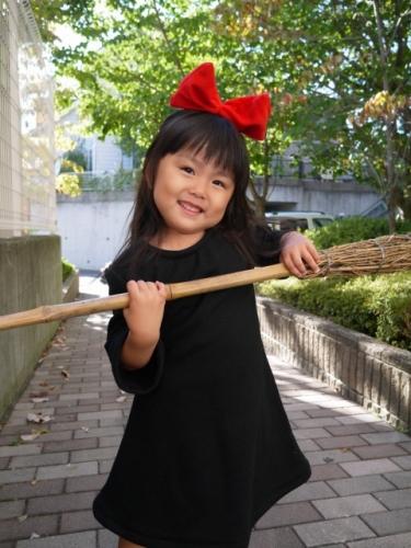 キキ 魔女の宅急便 コス コスプレ 子供 手作り kikis delivery service costume handmade 衣装3