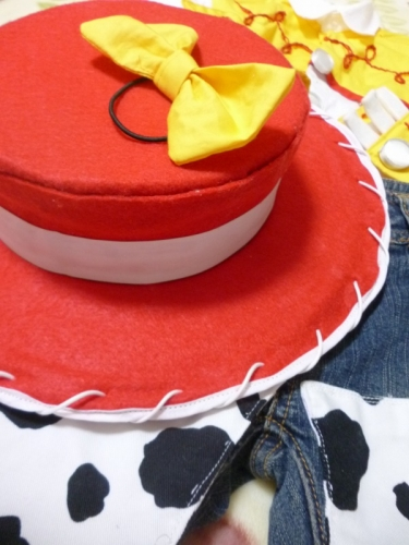 ジェシーの帽子 TOY STORY トイストーリー コスプレ コス 衣装 手作り ハンドメイド 作り方 ディズニー handmade