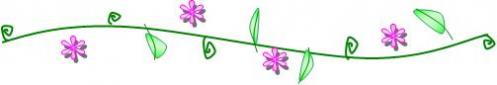 ライン花紫