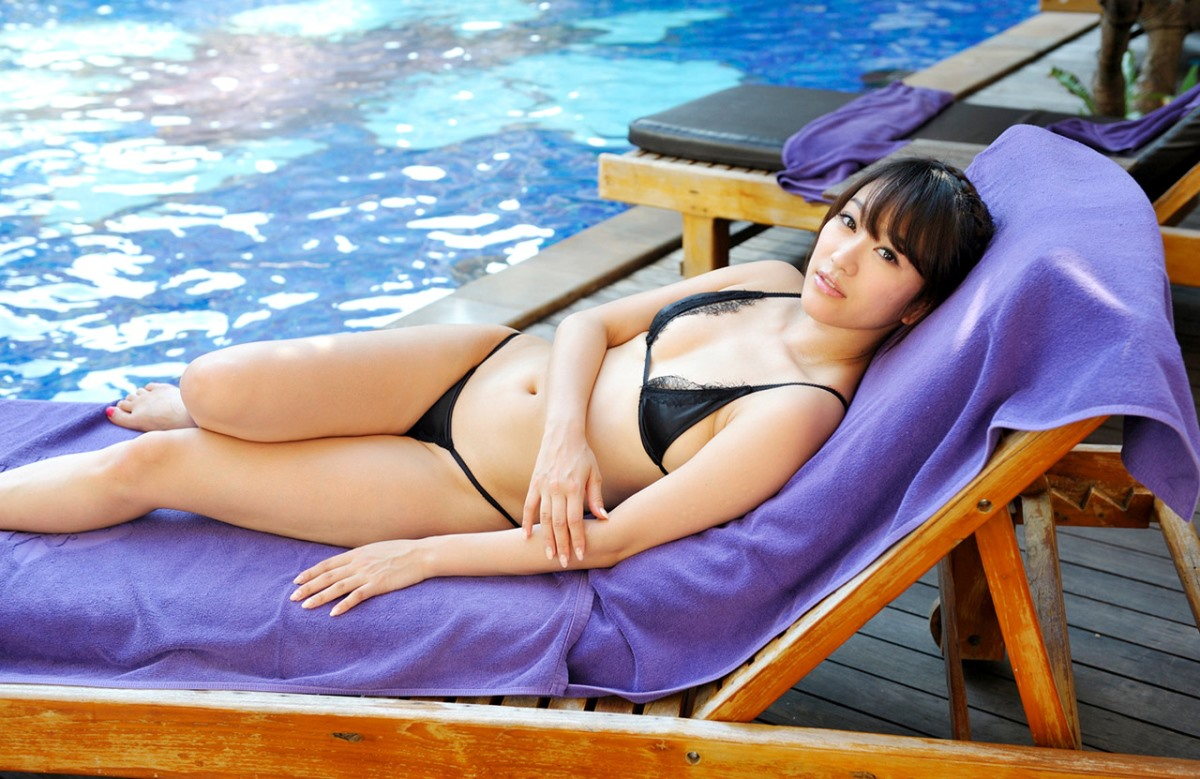 【No.7656】 プールサイド / 西野翔