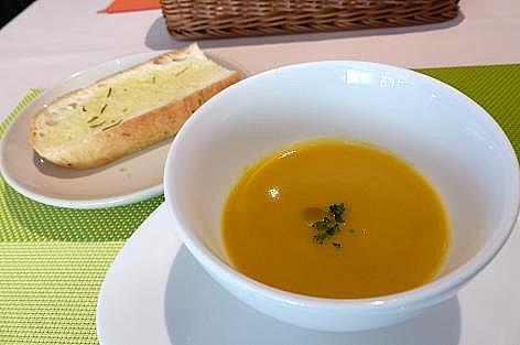 スープとパン♪