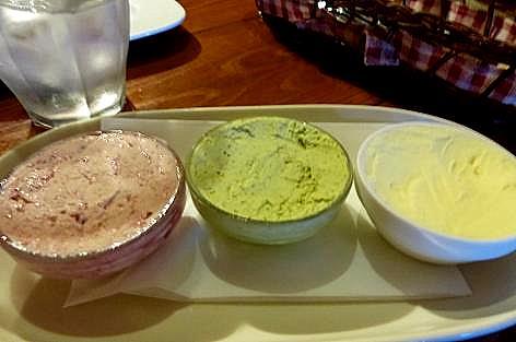 三種のバター♪