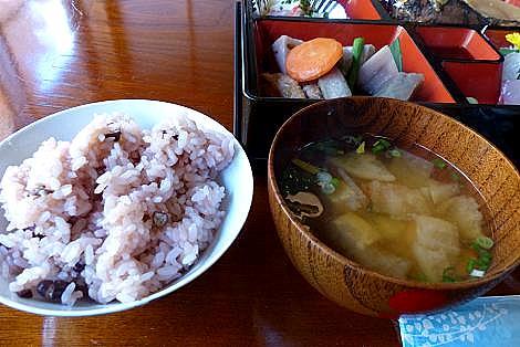 ご飯とお味噌汁♪