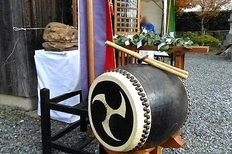 太鼓や榊♪