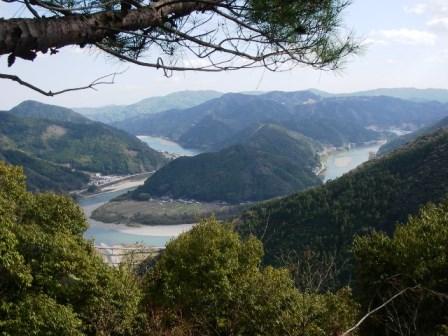IMGP6271鷹ケ森から仁淀川2
