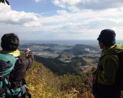 鷲尾山山頂