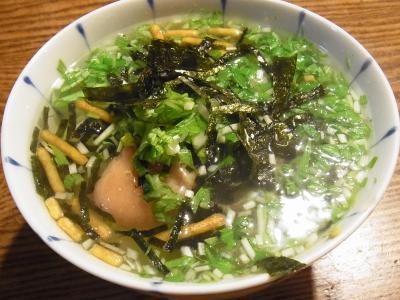 たらこ茶漬け (1)