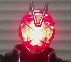 WAP!01仮面ライダーウィザード フレイムスタイル(顔面発光)