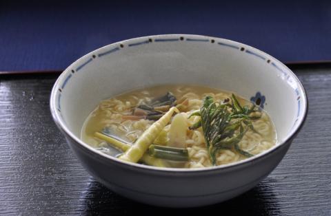 山菜ラーメン