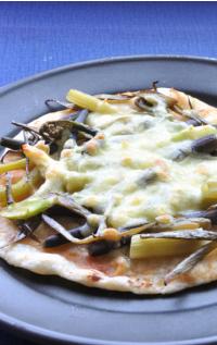 山菜ピザ2