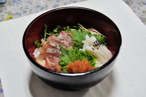 釣った魚丼.2