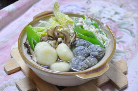 イワシと芋団子鍋2