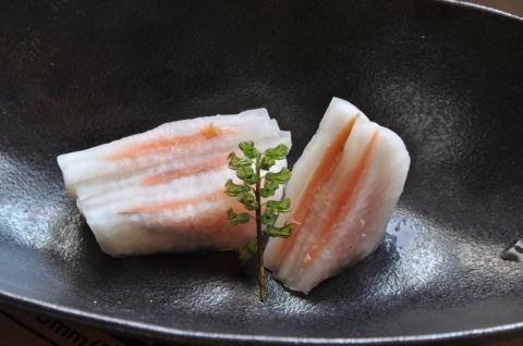 鮭と大根の甘酢漬け