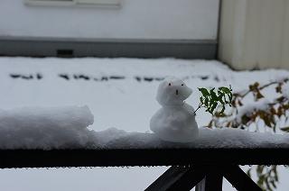 s-雪だるま