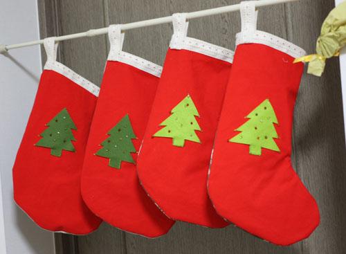 サンタの靴下 (1)
