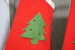 サンタの靴下 (2)