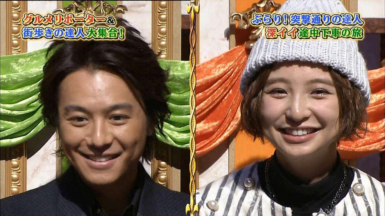 人生が変わる1分間の深イイ話SPに出演した篠田麻里子とTAKAHIRO