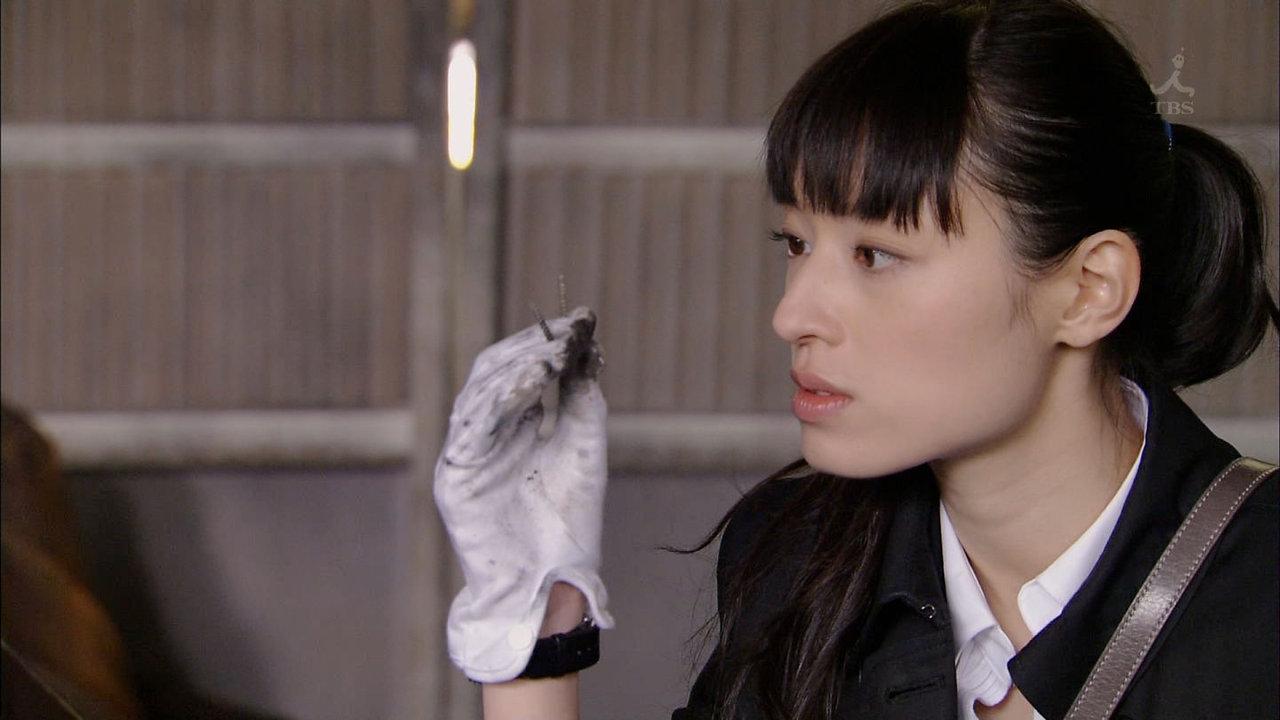 エラがある頃の栗山千明 ドラマ「ATARU」