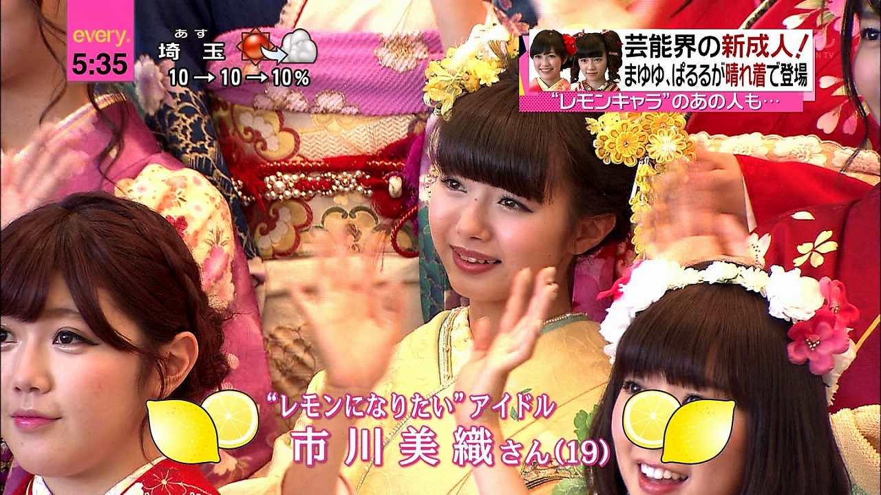 AKB48グループ成人式の晴れ着姿 宮崎美穂と市川美織