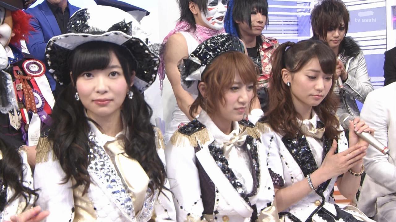 Mステに出演したAKB48の指原莉乃、高橋みなみ 大島優子の髪型がかわいい